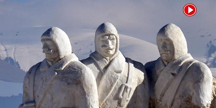Kardan Şehitler heykelleri yapımına başlandı (VİDEO)