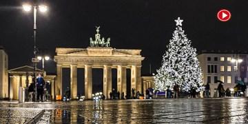 Avrupa yeni yıla Kovid-19  kısıtlamaları altında girdi (VİDEO)