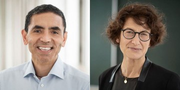 Almanya'da Prof. Dr. Uğur Şahin ve eşi Dr. Özlem Türeci'ye liyakat nişanı verilecek