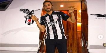 Cenk Tosun, sezon sonuna kadar Beşiktaş'ta
