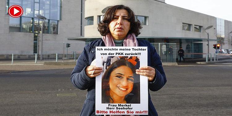 """PKK'nın kızını kaçırdığı anne:""""Alman yetkililerin sessizliğine anlam veremiyorum"""" (VİDEO)"""