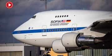 Uçan teleskop SOFIA, Almanya'da (VİDEO)
