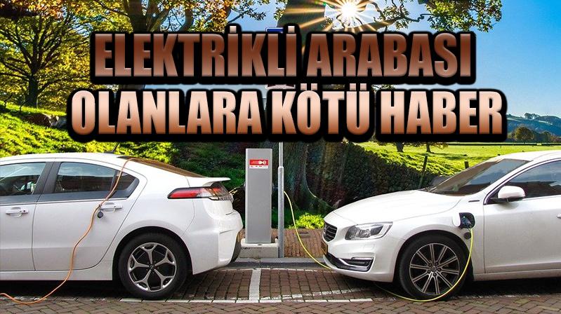 Elektrikli otomobillere otopark yasağı