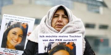Kızı PKK tarafından kaçırılan anneden Alman makamlarına tepki