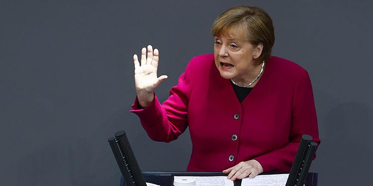 """Merkel: """"Aşı zorunluluğu getirilmeyecek"""""""