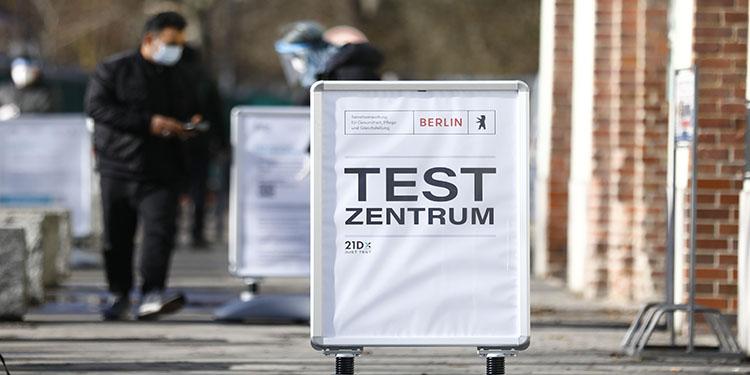 Almanya'da hızlı test merkezleri açıldı