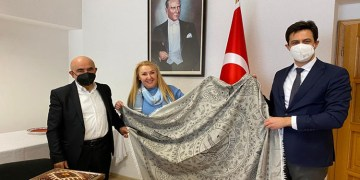 Köln Başkonsolosu Kaya'ya ATYD'den nezaket ziyareti