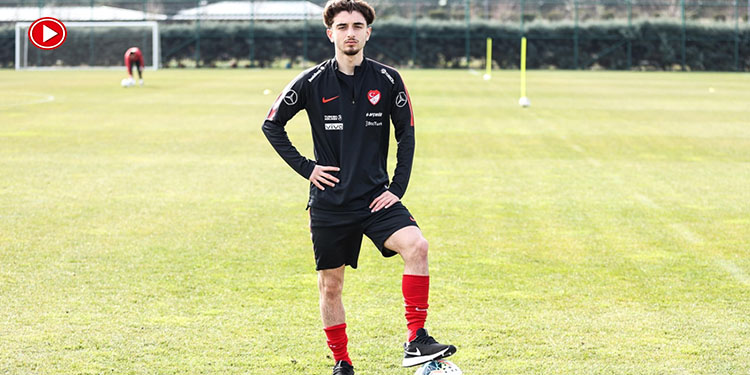 Ajaxlı futbolcu Muhammet Tunahan Taşçı'nın hedefi A Milli Takım (VİDEO)