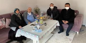 DİTİB camisi Ramazan geleneği gereği üyelerini ziyaret ediyor