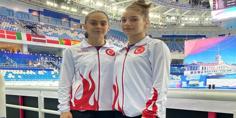 Avrupa Trampolin Cimnastik Şampiyonası'nda Elif Çolak, bronz madalya kazandı
