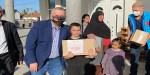 DİTİB, Sırbistan'da Ramazan paketi dağıttı