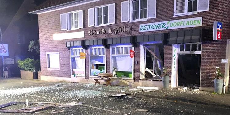 Bir gecede iki ATM patlatıldı