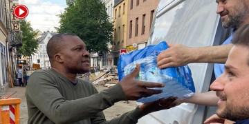DİTİB gönüllülerinden sel felaketi mağdurlarına yardım