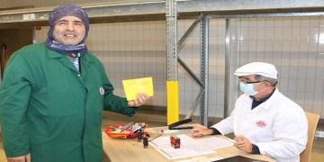 Egetürk'ten çalışanlarına korona aşısı