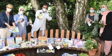 Türk kadınlardan hasta  çocuklara hediye