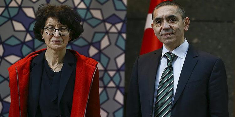 Şahin ve Türeci Almanya'nın büyük bilim ödülünün sahibi oldu