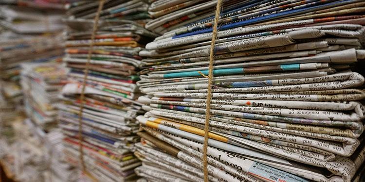 Almanya'da gazete kağıdı sıkıntısı