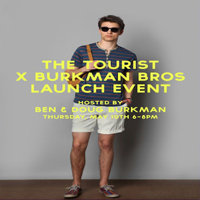 URBAN OUTFITTERS LAUNCHES BURKMAN BROTHERS 'THE TOURIST'
