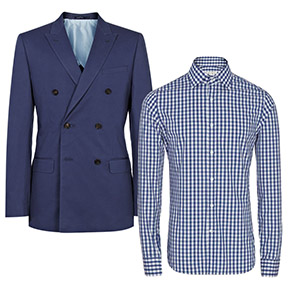 Summer Sales: Cotton Suits, Dress Shirts & T-Shirts At REISS