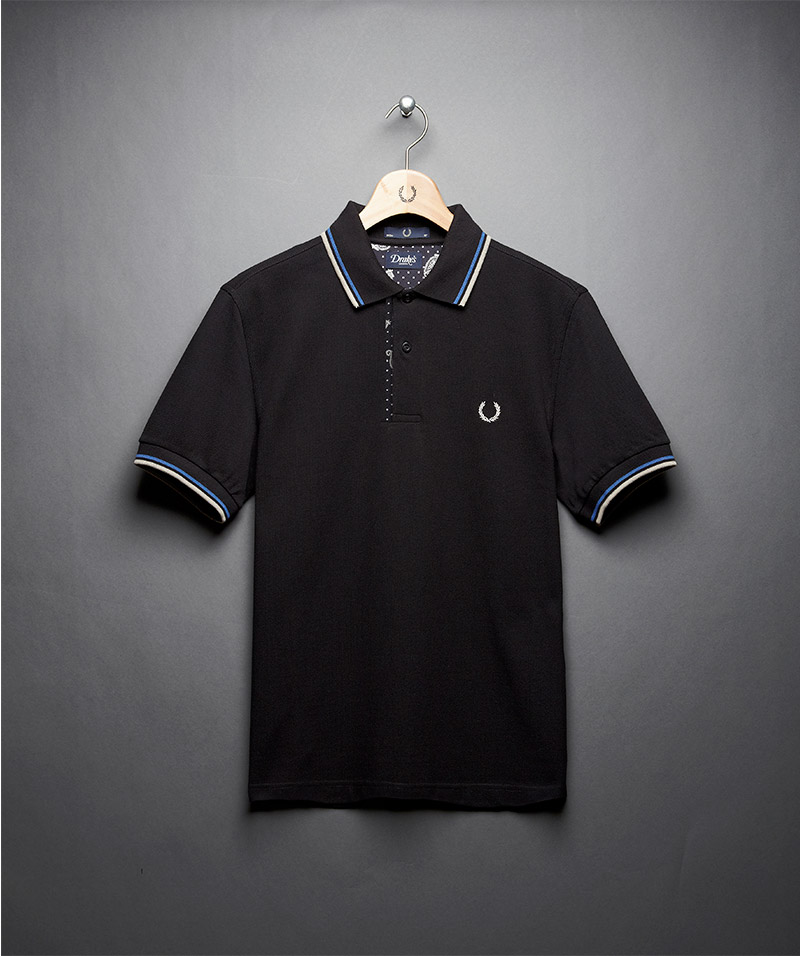 Drake S Of London X Fred Perry Capsule Collection
