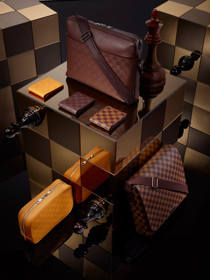 Louis Vuitton's Damier Signature Collection, Spring 2013 7