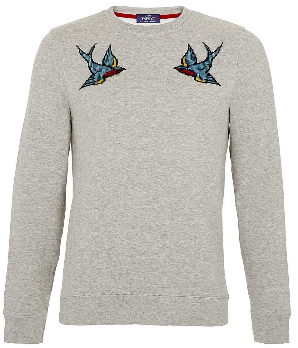 Birds_Topman_Sweatshirt