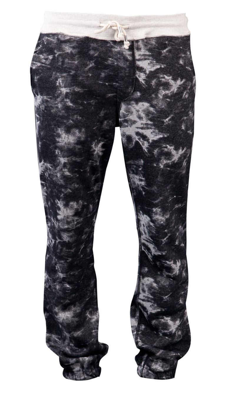 Shades Of Grey Tie Dye Sweatpants