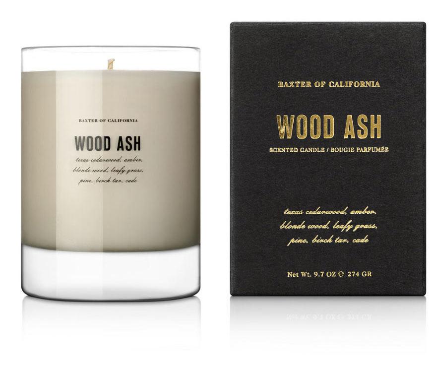 Baxter Wood Ash Candle