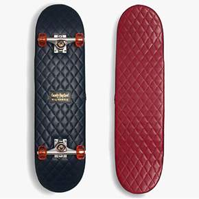 Casely-Hayford X H by Harris Leather Skateboards
