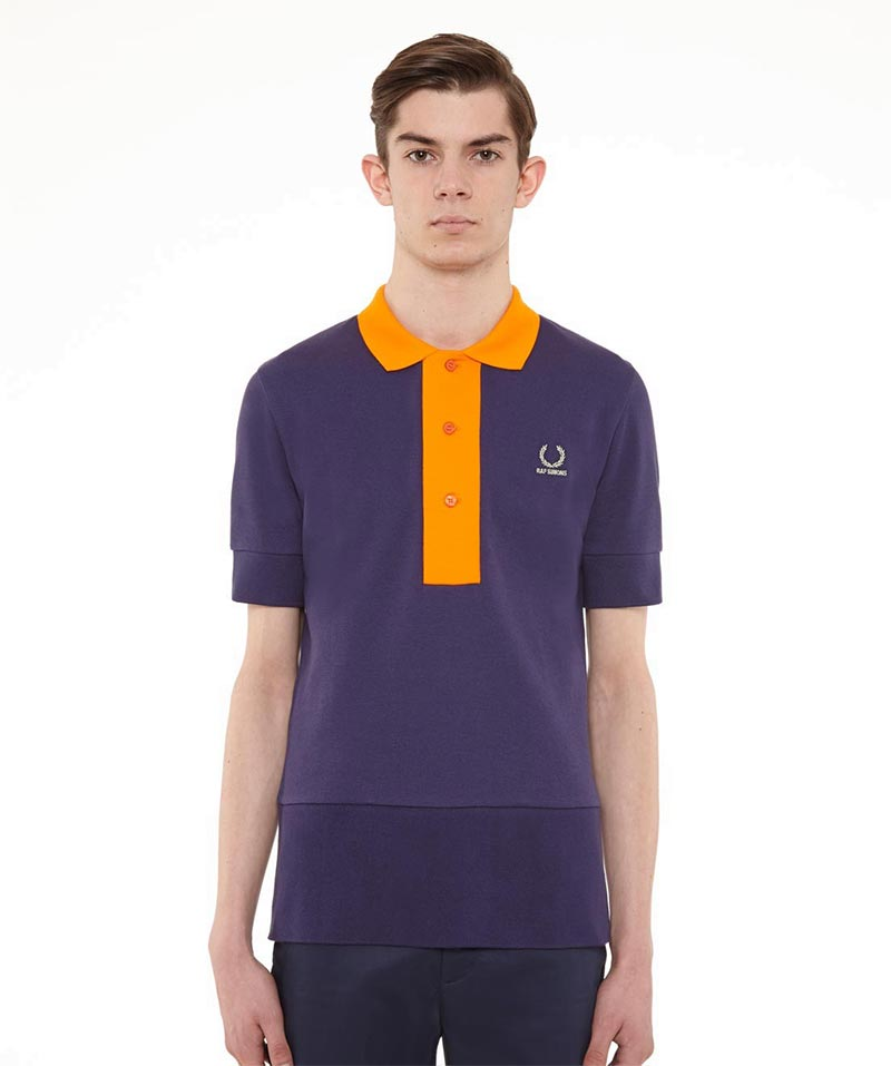 Raf Simons x Fred Perry Collection Deep Hem Pique Shirt