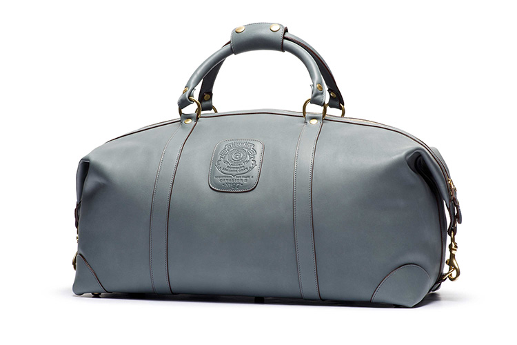 Ghurka Dusk Leather Collection Duffel Bag