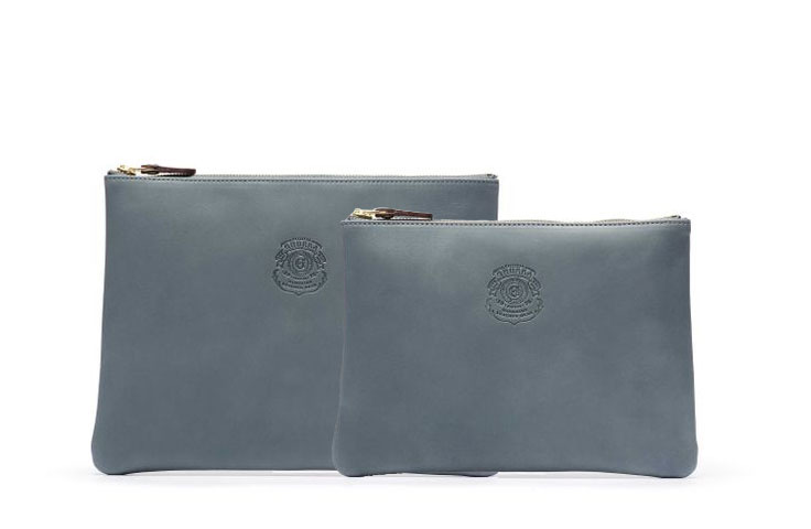 Ghurka Dusk Leather Collection  Pouch