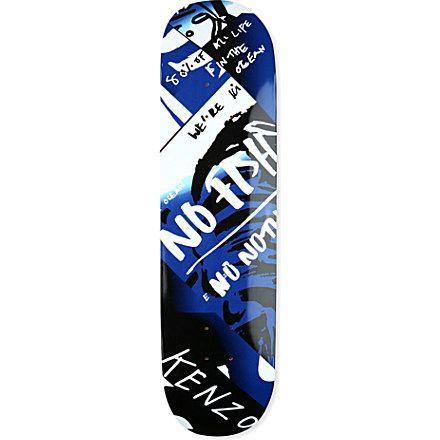 KENZO Slogan Skate Deck