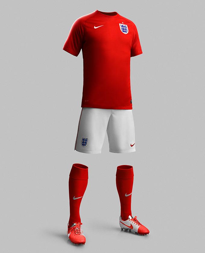 NIKE England 2014 Home & Away Kit 03