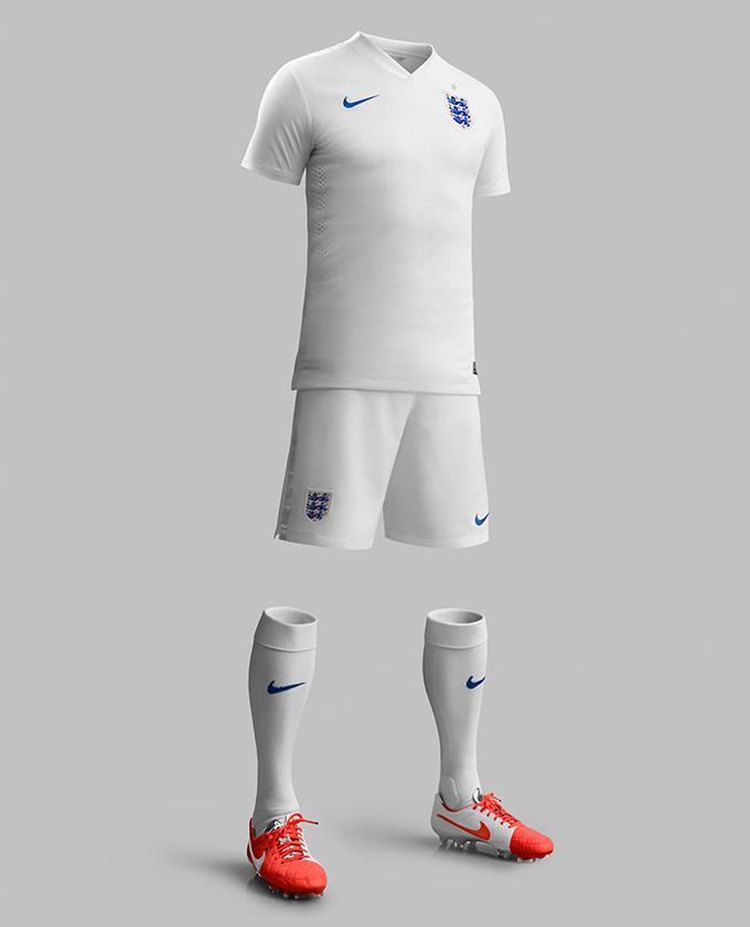 NIKE England 2014 Home & Away Kit 04