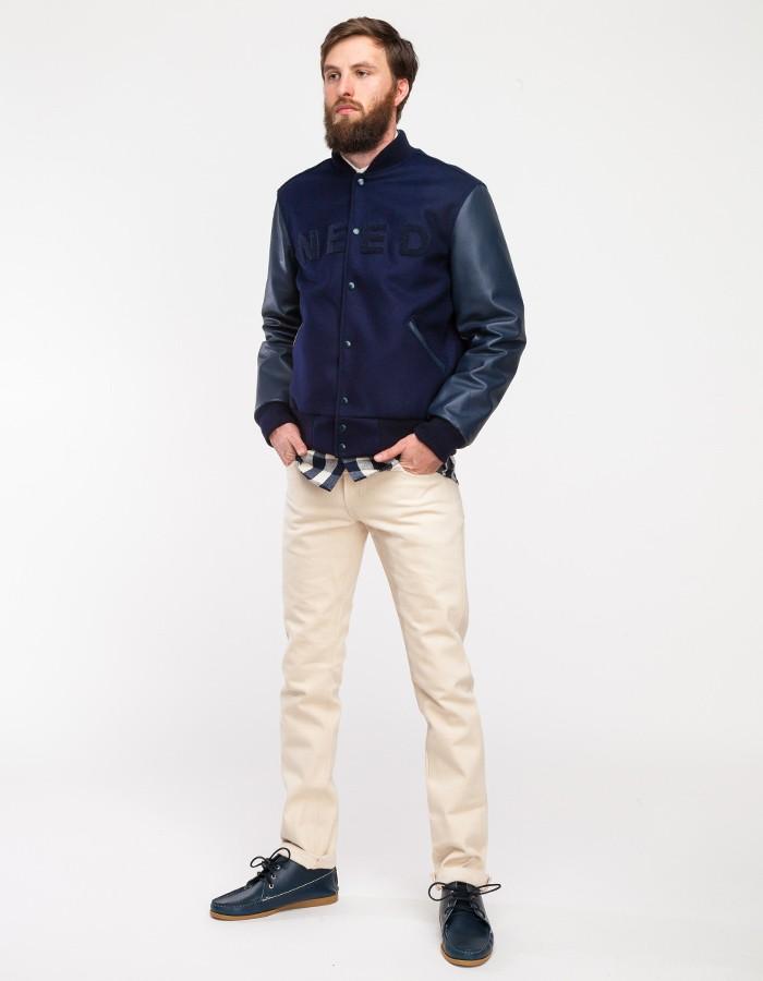 Need Supply x Odd Fellow Varsity Jacket
