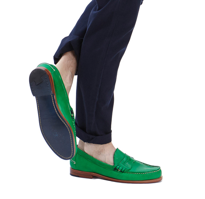 Band of Outsiders X Rancourt Beefroll Penny Loafer