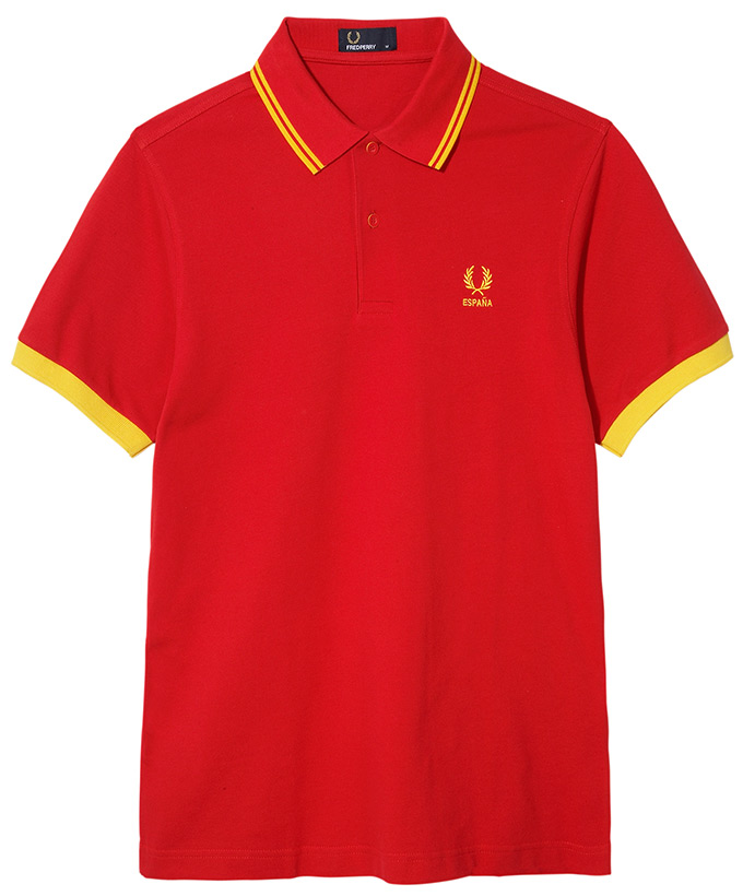 Fred Perry 2014 World Cup_ESPANA
