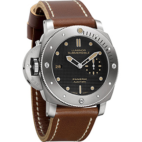 Watch Porn: Luminor Submersible 1950 Left-Handed