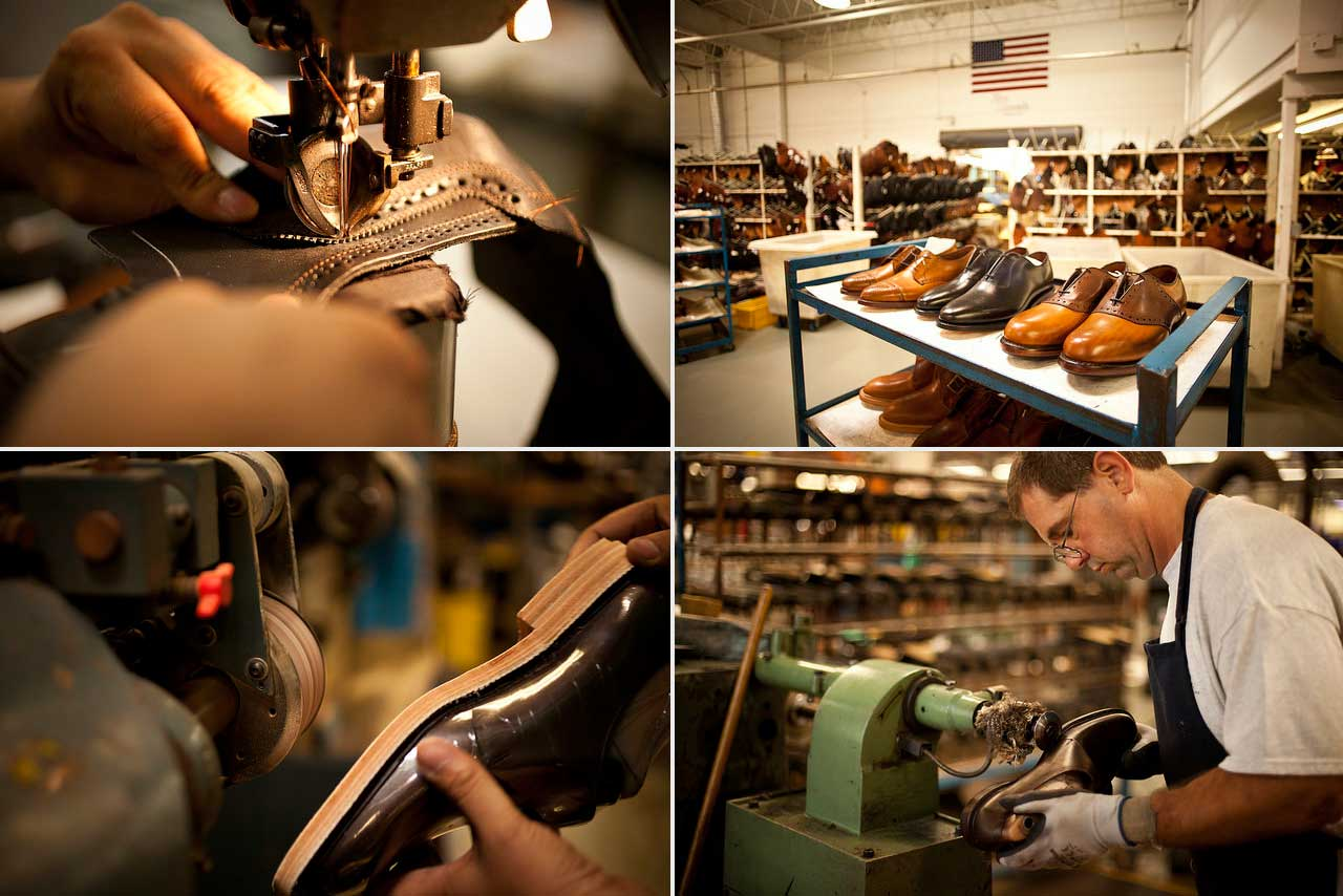 Club Monaco X Allen Edmonds Workshop