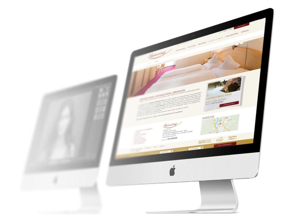 Hotel Vilpianerhof Webdesign haberer media