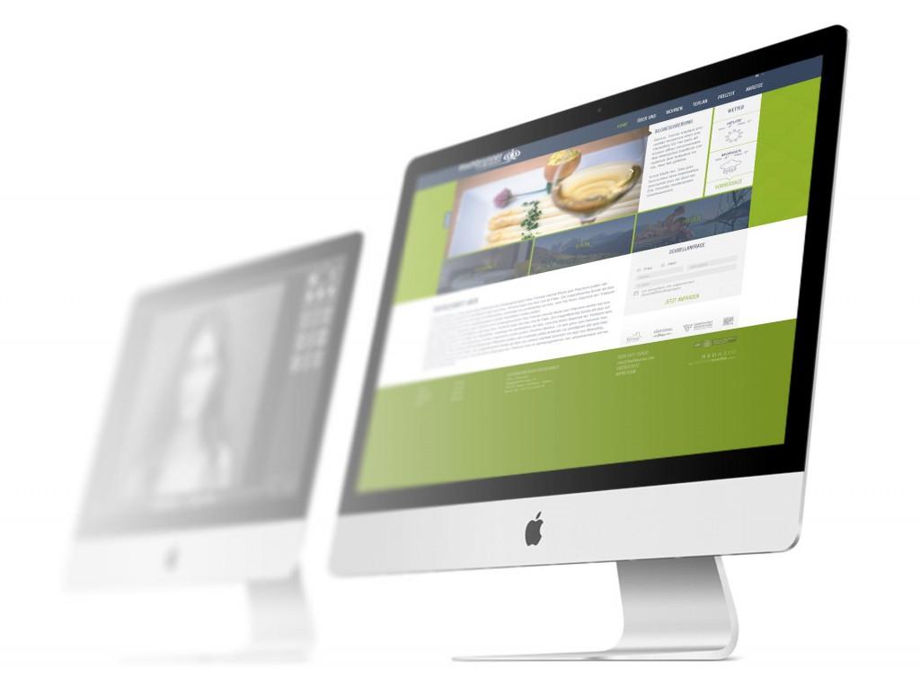 Ferienwohnungen Hochbrunner Terlan Webdesign haberer media Internetagentur