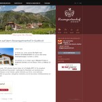 Rosengartnerhof Terlan - Referenz Webdesign haberer media Südtirol