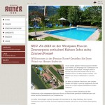 Pension Runer Terlan - Referenz Webdesign haberer media Südtirol