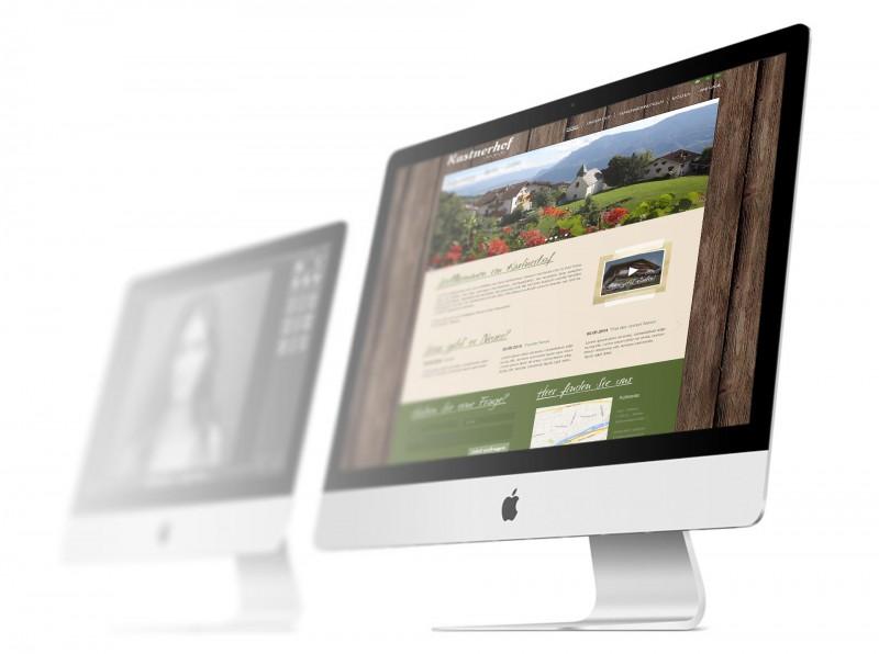 Kastnerhof Homepage Gestaltung