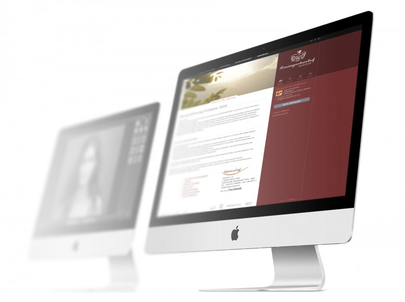 Rosengartnerhof Webdesign