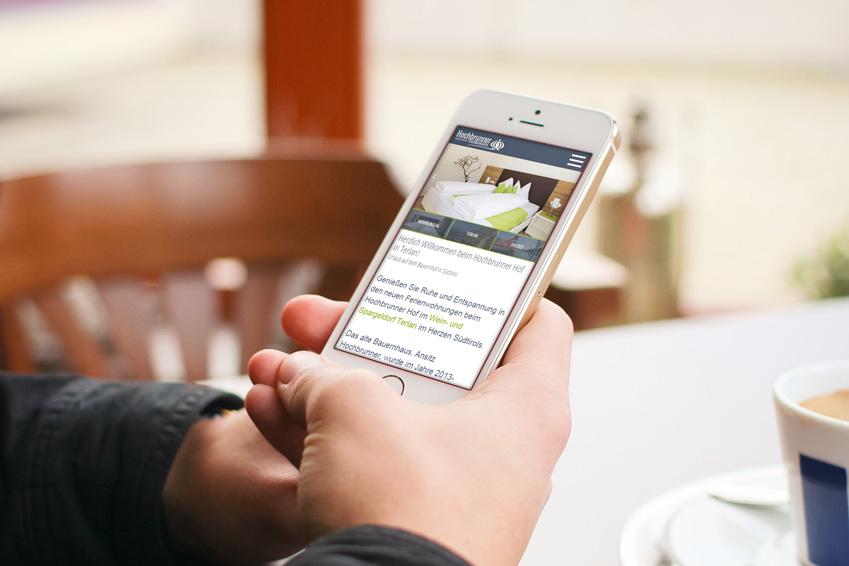 Responsive Webdesign - Internetagentur Südtirol haberer media