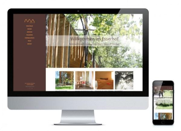 Responsive Webdesign Esserhof by Webagentur haberer media