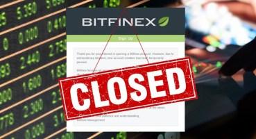 Bitfinex ve Ethfinex, 7 Ocak'ta 7 Saat Çevrimdışı