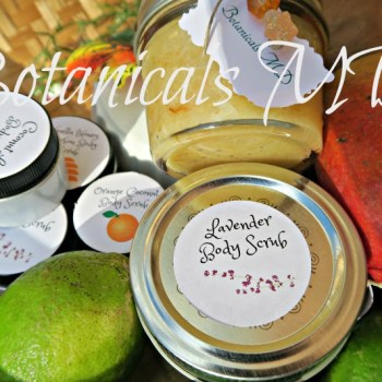 Botanical MD body scrub copyright habibatunaumd
